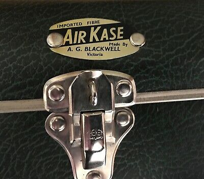 VINTAGE SUITCASE / LUGGAGE - AIR KASE  - Vintage 70's by A.G. BLACKWELL