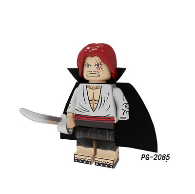 Monkey D One Piece Lego Moc Minifigure Gift For Kids Angry