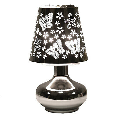 Electric Rotating Touch Lamp Wax Burner Butterfly Carousel Moving Light FREE Wax