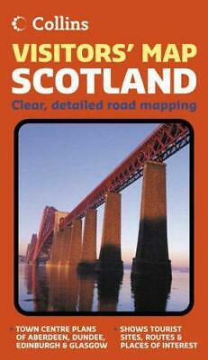 Visitors' Map Scotland (Route Planning Map S.), Very Good Condition Book, , ISBN