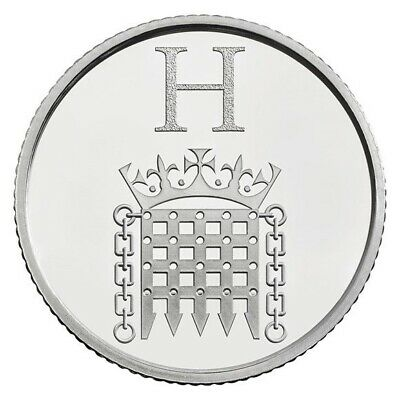 """New 10p H  """"House Of Parliament"""" 2019 - Free Postage"""