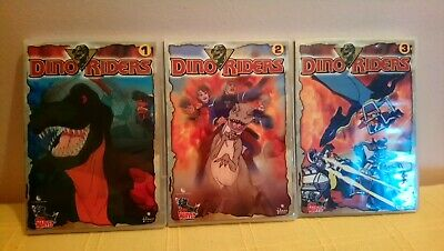 Pack Completo 3 Dvd :Dino Riders Vol. 1+2+3