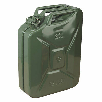 Sealey JC20G Jerry Can 20l - Green