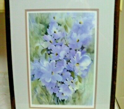 Kai Liis Floral signed and numbered well known artist Beautiful