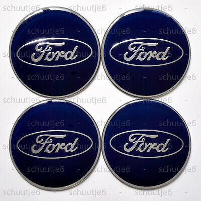 4x 65mm Ford Car Wheel Center Hub Cap Caps Emblem Badge Decal Sticker Stickers