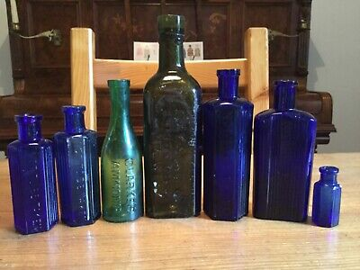 Lovelly collection of POISON /CHEMISTS Bottles