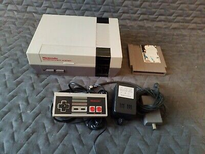 Nintendo Entertainment System NES Console Bundle w/ Super Mario Bros. *TESTED*