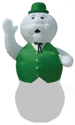 10 Ft Giant SAM THE SNOWMAN Lighted Outdoor Air Blown Inflatable RUDOLPH
