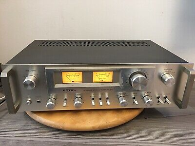 Vintage Rotel RA-913 Integrated Amplifier Fully Working