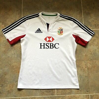England Rugby Union Shirt Size Large Lions Tour Australia 2013 125th Anniversary