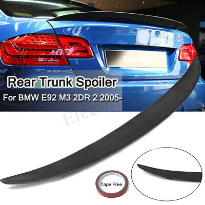 Universal Fit 50 Inches BMW M3 Style Rear Trunk Lip Spoiler Wing Unpainted