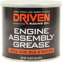 Joe Gibbs Racing Driven engine assembly grease 1 lb. tub( camshaft lube etc )
