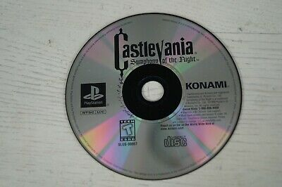 Castlevania: Symphony of the Night (PlayStation 1, 1997) G Hits * Disk Only *
