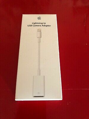 Open box Genuine Apple Lightning to USB Camera Adapter MD821AM/A - Model A1440