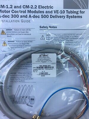 Adec Dental VE-10 Tubing For Adec 300 And 500 Delivery System