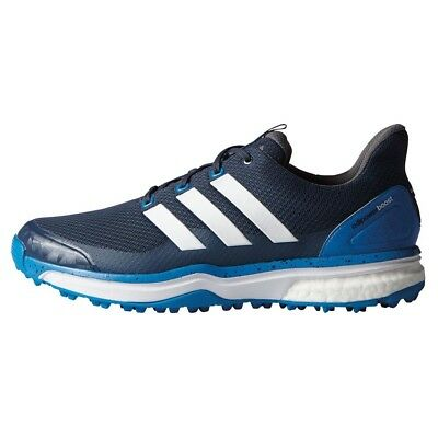 New Men'sAdidas Adipower Sport Boost 2 Golf Shoes Blue F33220 - Pick Your Size
