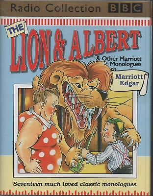 THE LION & ALBERT AND OTHER MONOLOGUES, Marriott Edgar ~ Two-Cassette Audiobook