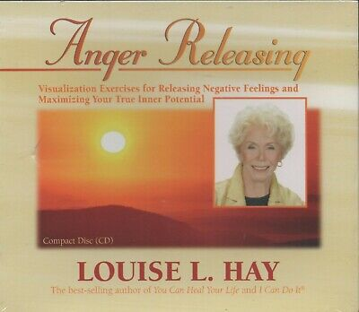 ANGER RELEASING by Louise L. Hay ~ NEW (With Minor Fault) CD Audiobook