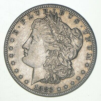 1883-S Morgan Silver Dollar - Dodge Coin Collection *402