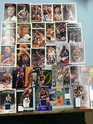 Ainge,Barkley,Johnson,Finley.Older Phoenix Suns Basketball Card Collection