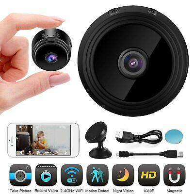Smart Mini Spye IP Camera Wireless WiFi HD 1080P Home Security Night Vision JK