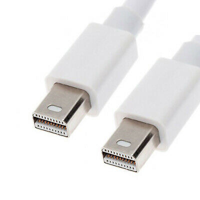 Mini DisplayPort Male to Mini DP Male Monitor Cable for Macbook & Displays