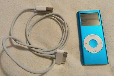 Apple iPod Nano 2nd Generation Blue (4GB) in perfect working order