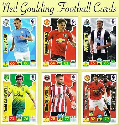 PANINI Premier League ADRENALYN XL 2019/2020 ☆ Football Cards ☆ #181 to #270