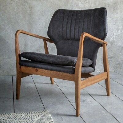 Frank Hudson Gallery Direct Whitworth Chair Charcoal