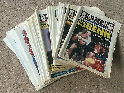 Boxing Weekly Newspapers Volume 1 No.14 - No.50