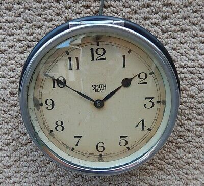 1940's Smiths 8 Day Wall clock working