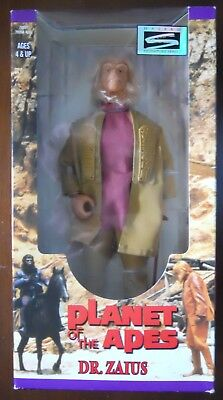 Planet of the Apes DR. ZAIUS 12inch POTA Doll Action Figure 30th anniversary MIB