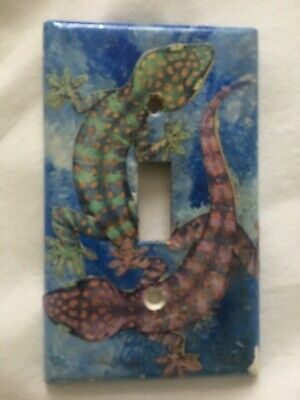 CUSTOM Switchplate Light Switch Plate LIZARD Gecko YIN YANG Unique