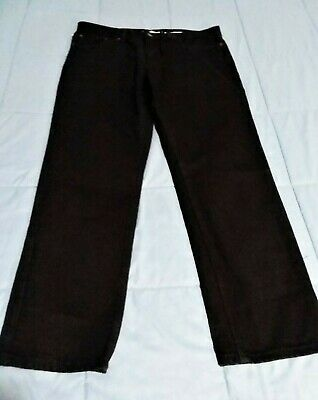 Mens URBAN PIPELINE 34 x 30 Black Regular Fit Jeans New NWT