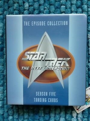Star Trek-The next Generation-Season five-The Episode Collection-inkl.407 Cards