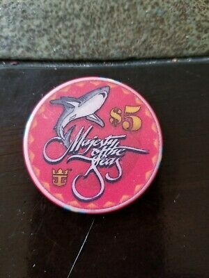 $5.00 Great shark chip. Royal Caribbean cruise. Great condition .