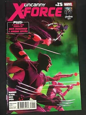 Uncanny X-Force #25 (2010) - VF 1st Omega Clan House Of X Powers Of X
