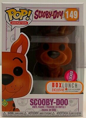 FUNKO POP! Animation Scooby Doo #149 Flocked Orange BoxLunch Exclusise