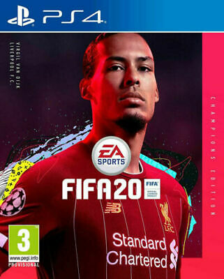 FIFA 20 CHAMPIONS EDITION PS4 - NEW - DIGITAL PSN ACCOUNT - OUT 24th - PRE-ORDER