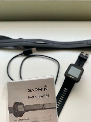 Garmin Forerunner 35 GPS Running Watch - Black W/ HEART RATE MONITOR