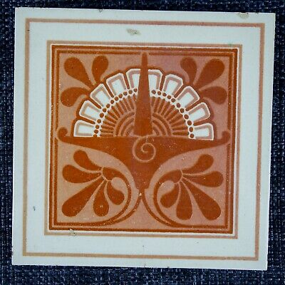 Victorian Tile - Maw & Co - C1880 - Floreat Salopia - Forward Looking Design