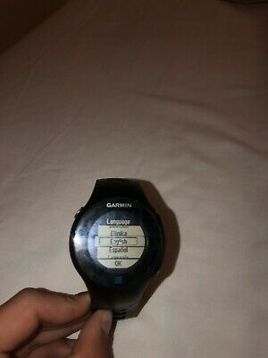 Garmin Forerunner 610 GPS running watch, charger, Heart Rate, color black,