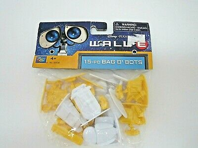 Walt Disney Pixar Wall-E 15 Piece Bag O Bots Assorted Robot Thinkway Toy