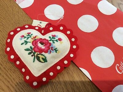 Cath Kidston Sweet Heart Pin Cushion Bnwt & Giftbag