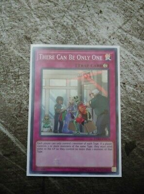 THERE CAN BE ONLY ONE - Super - EXFO-EN076 - Unl - NM - Yu-Gi-Oh