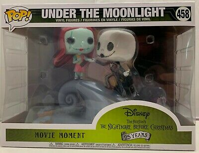 FUNKO POP ! Movie Moments Nightmare Before Christmas #458 Under the Moonlight