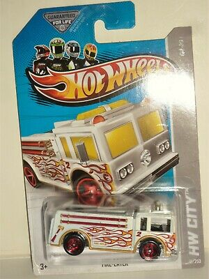 "Hot Wheels-2012-""FIRE EATER-{*fire truck*}-""HW-CITY-*T-HUNT SERIES*-COL.#19/250"