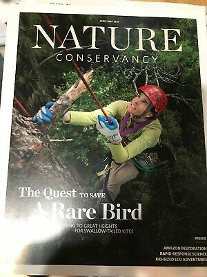 Nature Conservancy (Apr/May 2016) The Quest to Save a Rare Bird