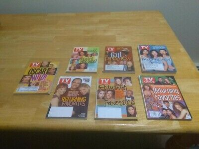 TV Guide - 7 Fall Previews, Returning Faves and Oscar Covers - Early 2000s/VGd+