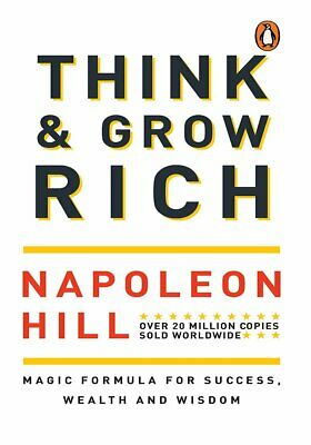 NEW Think and Grow Rich  By Napoleon Hill Paperback